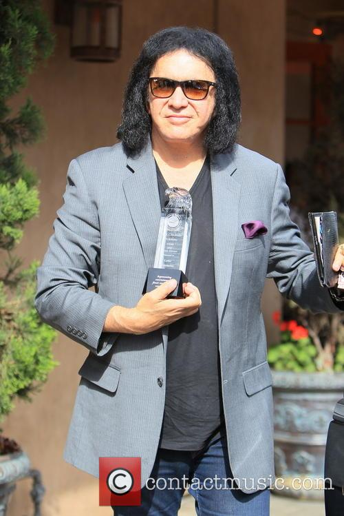gene simmons gene simmons seen leaving panini 3940519