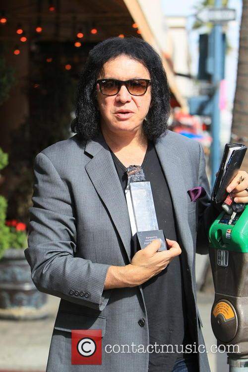 gene simmons gene simmons seen leaving panini 3940529