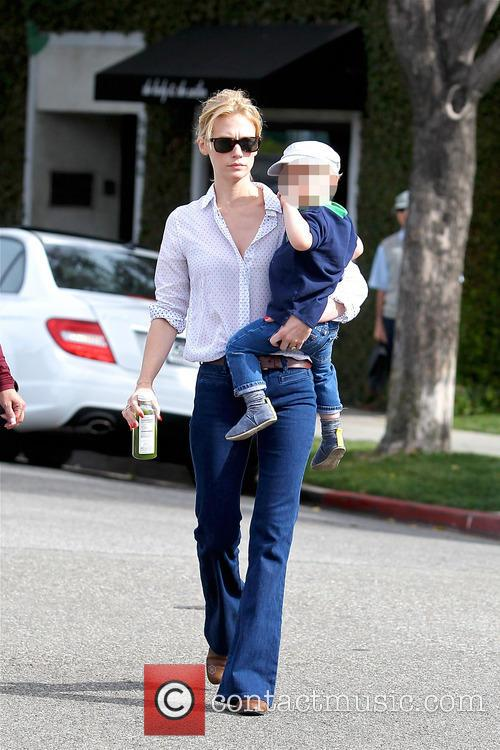 January Jones and Xander Dane Jones 7