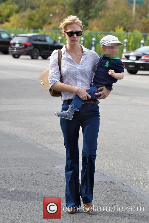 January Jones, Xander Dane Jones