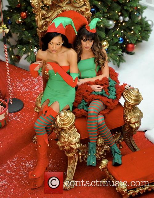 Lea Michele and Naya Rivera 8