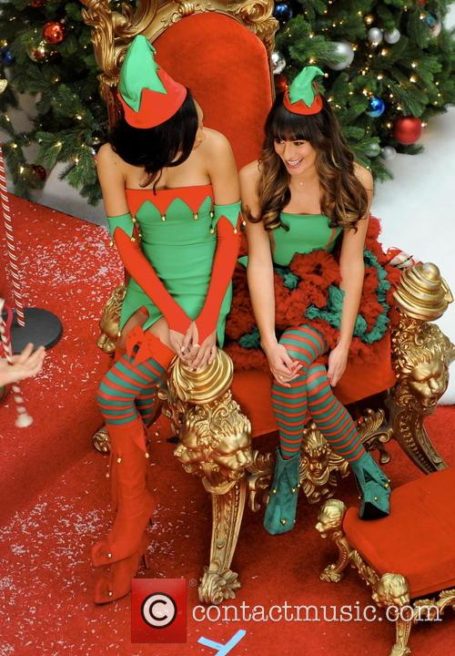 Lea Michele and Naya Rivera 9