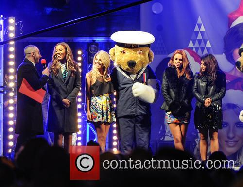 The Saturdays, Una Healy, Rochelle Humes, Vanessa White, Mollie King and Atmosphere 5
