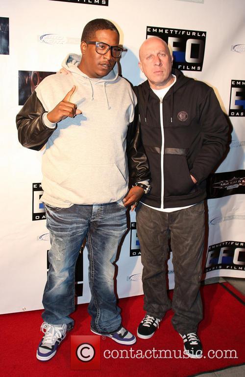 Tupac Shakur, Edidon and Steve Adler 4