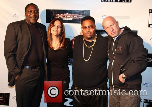 Tupac Shakur, Ray Luv, Leila Steinberg, L.t. Hutton and Steve Adler 2