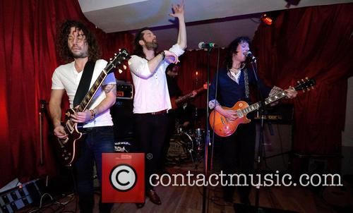 RumHoney perform their first live gig at The...
