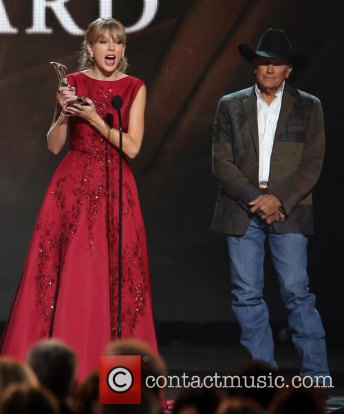 Taylor Swift and George Strait 2