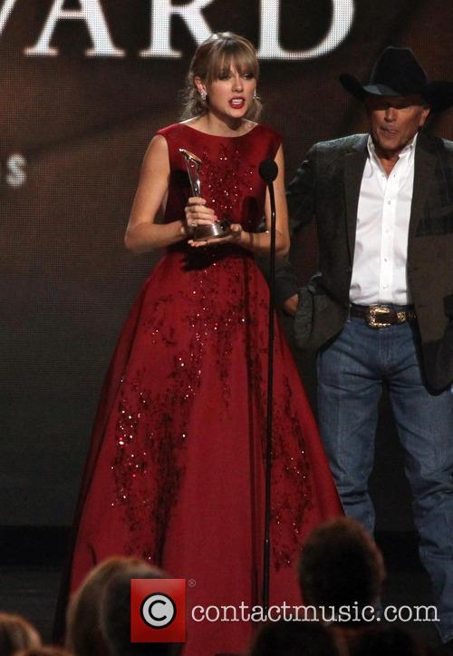 Taylor Swift and George Strait 7