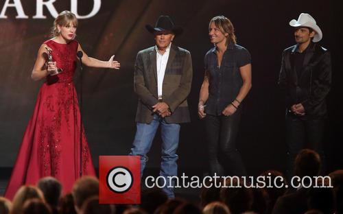 Taylor Swift, George Strait, Keith Urban and Brad Paisley 2