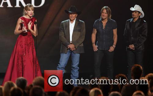 Taylor Swift, George Strait, Keith Urban and Brad Paisley 1
