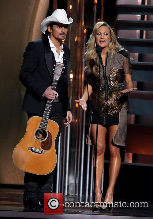 Brad Paisley and Carrie Underwood 2