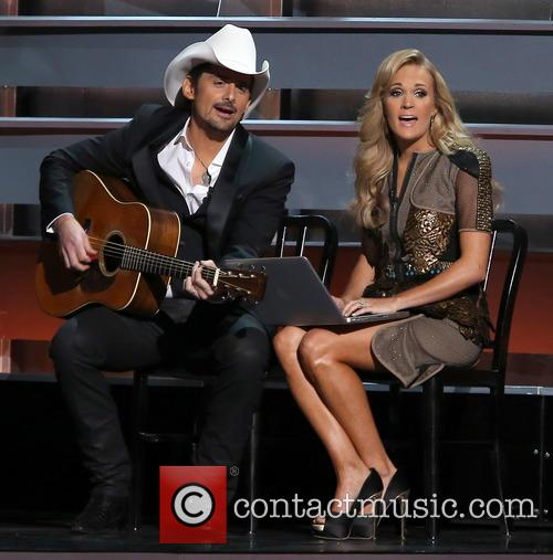 Brad Paisley and Carrie Underwood 3