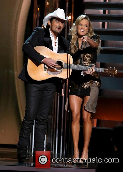 Brad Paisley and Carrie Underwood 5