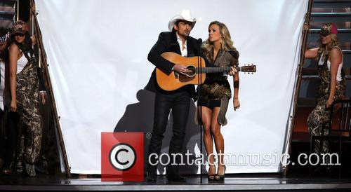 Brad Paisley and Carrie Underwood 7