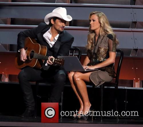 Brad Paisley and Carrie Underwood 1