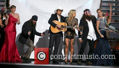 Brad Paisley, Carrie Underwood and Duck Dynasty 4