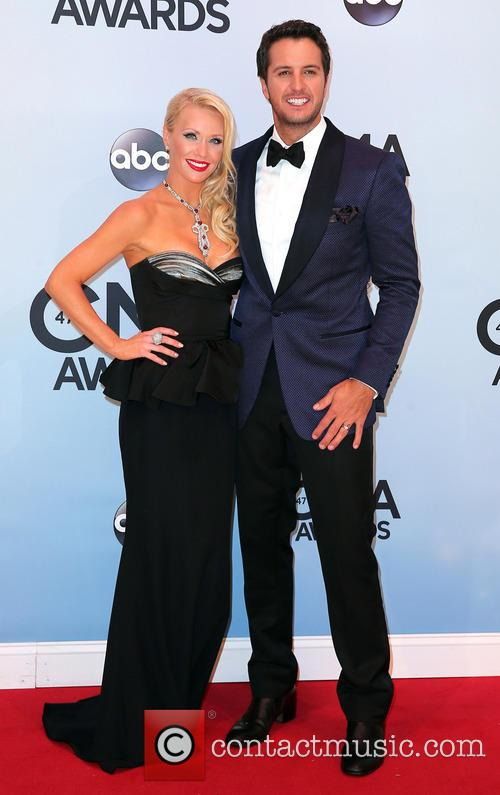 Caroline Boyer and Luke Bryan 2