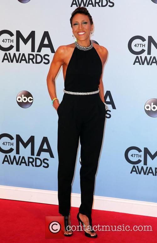 robin roberts 47th annual cma awards red 3939782