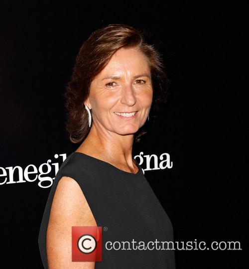Anna Zegna, Ermenegildo Zegna Boutique on Rodeo Drive in Beverly Hills