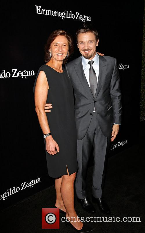 Anna Zegna and Jeremy Renner 11