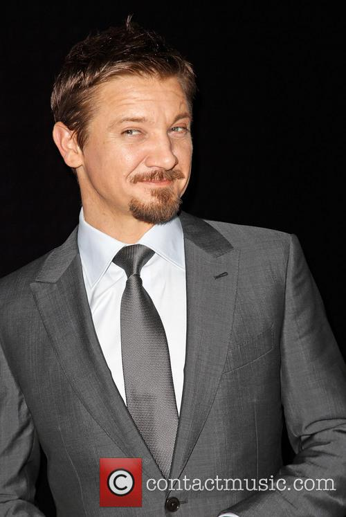 Jeremy Renner, Ermenegildo Zegna Boutique on Rodeo Drive in Beverly Hills