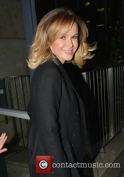 Amanda Holden leaving Newstalk studios
