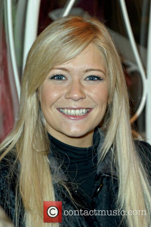 Suzanne Shaw parades through the centre of Bristol...