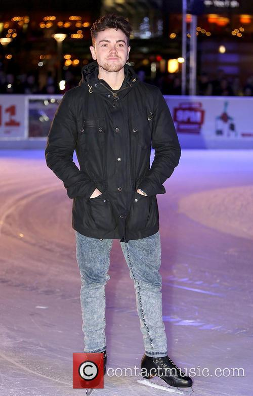 ray quinn opening of ice festival 2013 3942847