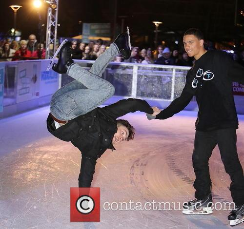 ray quinn opening of ice festival 2013 3942851