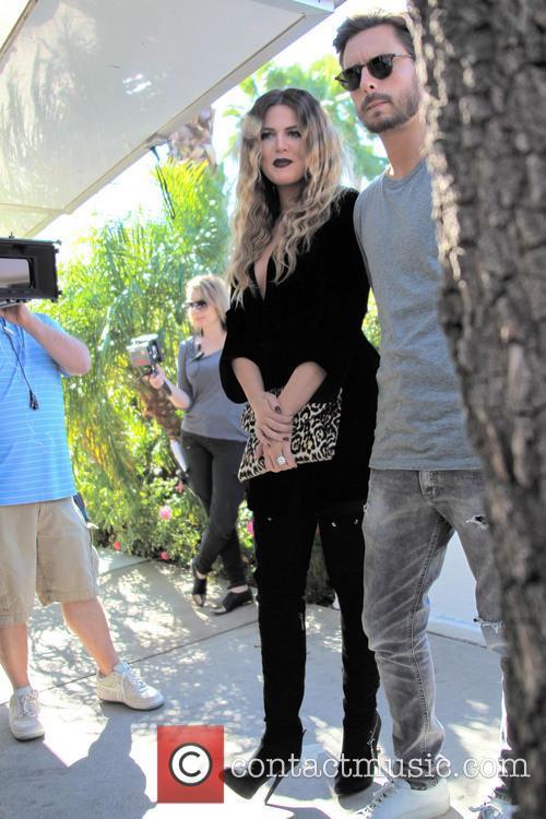 Khloe Kardashian and Scott Disick 12
