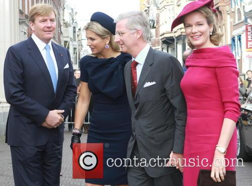 Belgium Royals visit The Hague