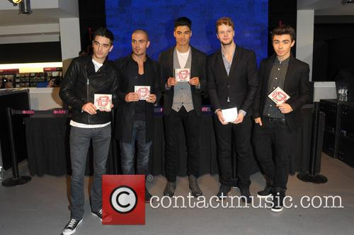 The Wanted sign copies of their latest album