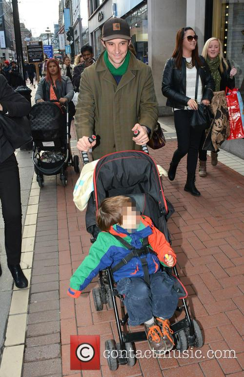 Tom Vaughan Lawlor out and about