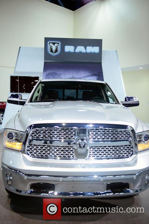 Carl Lally introduce 2014 Dodge Ram 1500, Miami Beach Convention Center