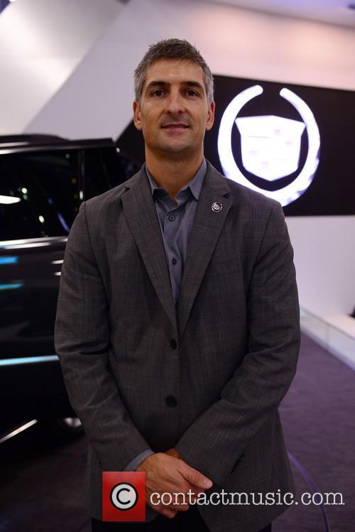 Micheal Stapleton Cadillac Design Director Introducing 2014 Cadillac Escalade 2