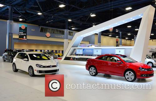 View of VW, Miami Beach Convention Center