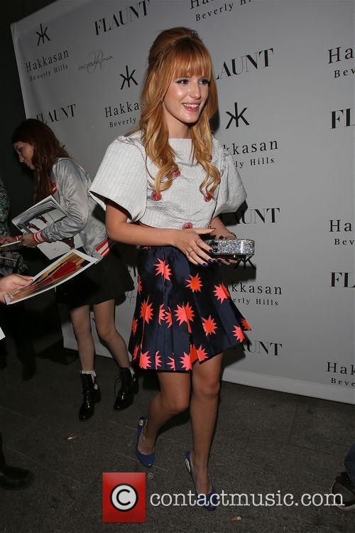 Bella Thorne leaves Hakkasan Party in fun fashion