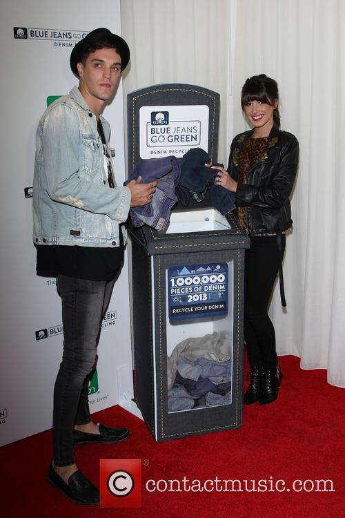 Shenae Grimes and Josh Beech 2