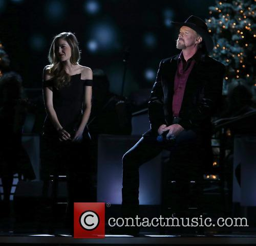 Lily Costner and Trace Adkins 3
