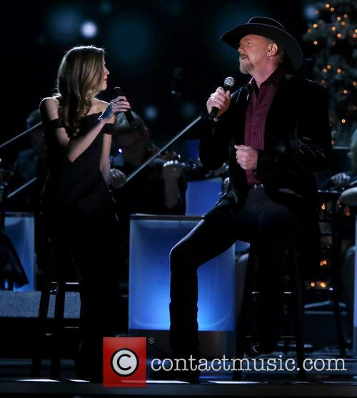 Lily Costner and Trace Adkins 5