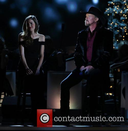 Lily Costner and Trace Adkins 6