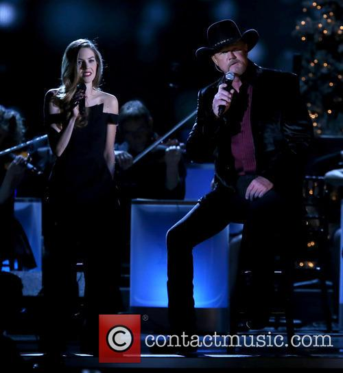 Lily Costner and Trace Adkins 7
