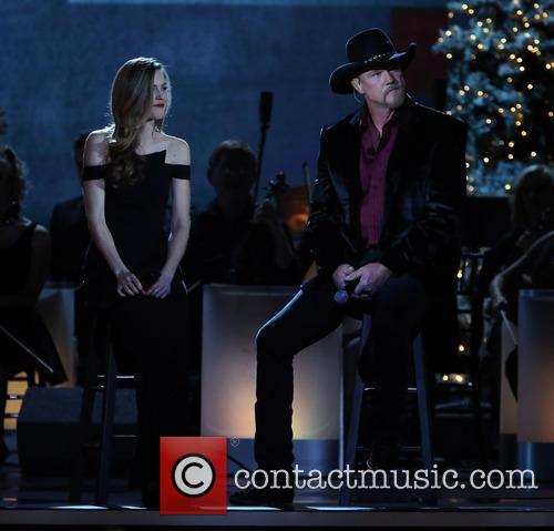 Lily Costner and Trace Adkins 8