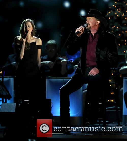 Lily Costner and Trace Adkins 11