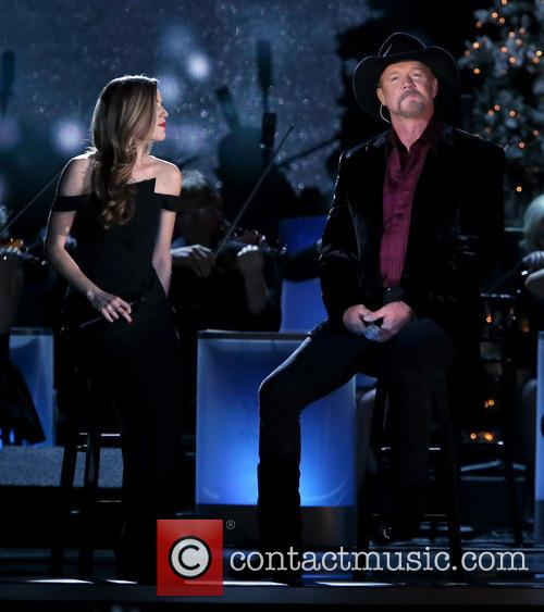 Lily Costner and Trace Adkins