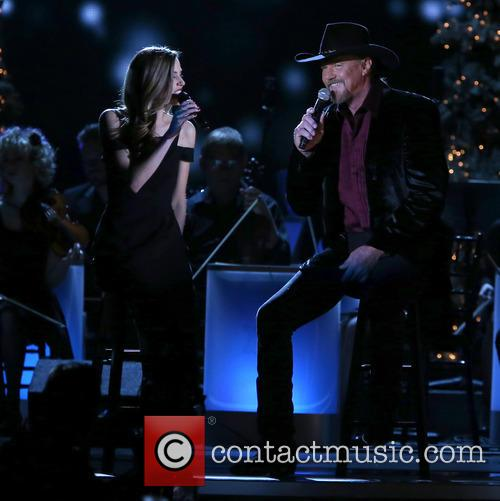 Lily Costner and Trace Adkins 13