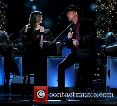 Lily Costner and Trace Adkins 14
