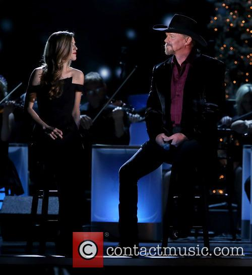 Lily Costner and Trace Adkins 16