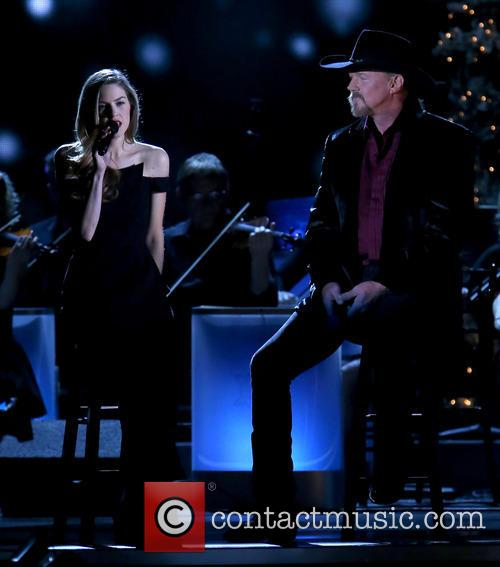 Lily Costner and Trace Adkins 17