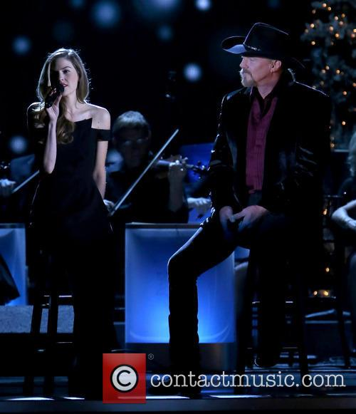 Lily Costner and Trace Adkins 1